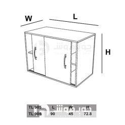 ابعاد-کمد-ام-دی-اف-کوچک-TL905