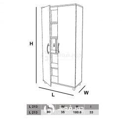 ابعاد-کمد-دو-درب-L213