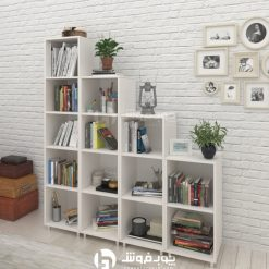 قفسه-کتاب-چوبی-LB101