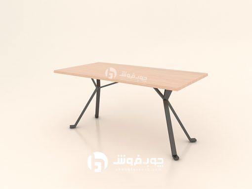 میز-جدید-با-پایه-فلزی-تک