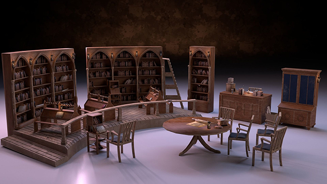 کتابخانه و فایلینگ اداری
