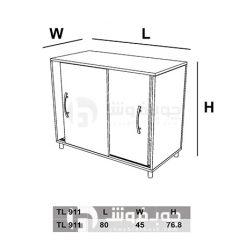 ابعاد-کمد-ریلی-کوچک-TL911