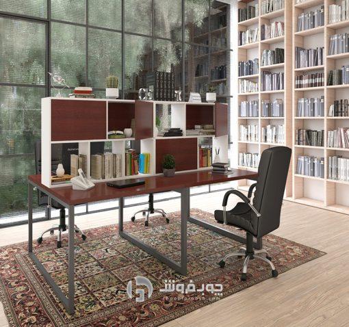 میز-کار-کتابخانه-دار