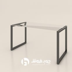 میز-شیشه-پایه-فلزی-تک