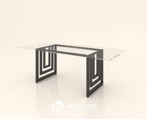 میز-کنفرانس-شیشه-ای-تک