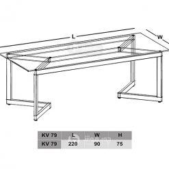 میز-کنفرانس-مدرن-شیشه-ای-نقشه
