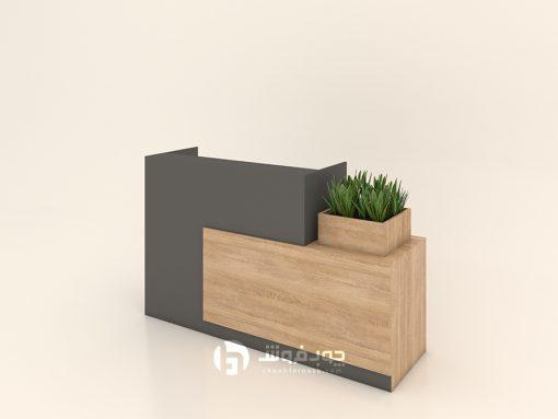 میز-منشی-مدرن-چوبی-kp110