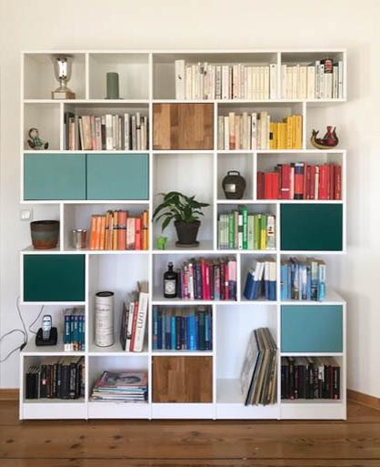 قفسه-کتاب-مدرن