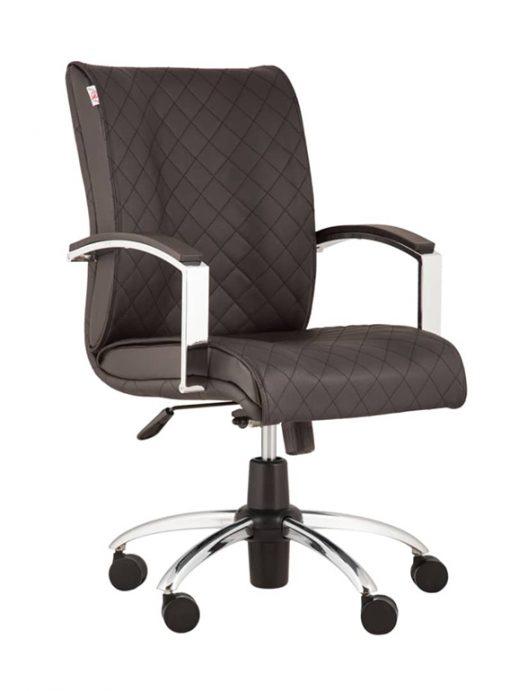 صندلی اداری سازینه چوب d-889