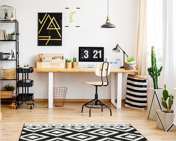 طراحی-دکوراسیون-دفتر-کار-خانگی