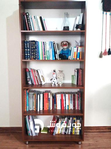 کتابخانه-فانتزی-و-کاربردی-چوبی