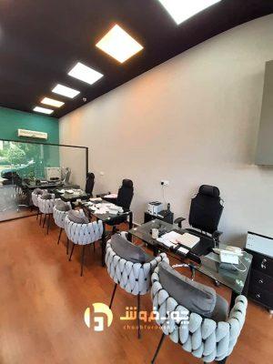 میز-پذیرش-تجاری-اداری-شیشه-ای