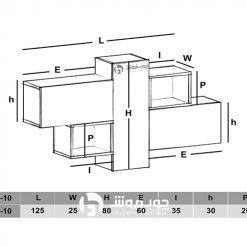 نقشه-اجرای-شلف-دیواری
