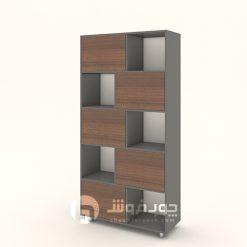 قفسه-کتاب-چوبی-l850