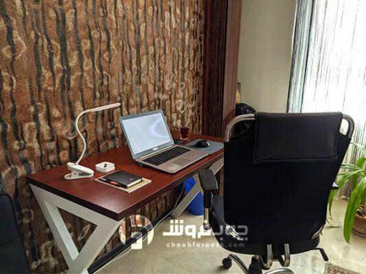 میز-کار-پایه-ایکس-فلزی