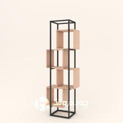 کتابخانه-فلزی-مدرن-dk420