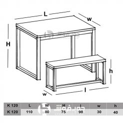 نقشه-اجرای-میز-ناهار-خوری-DT400