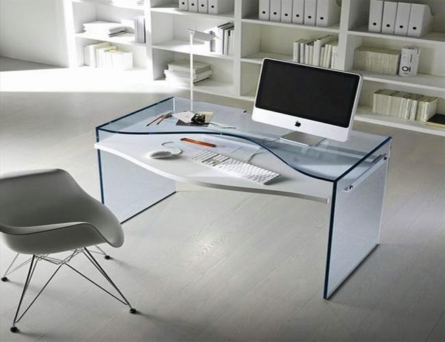 انتخاب میز اداری شیشه ای