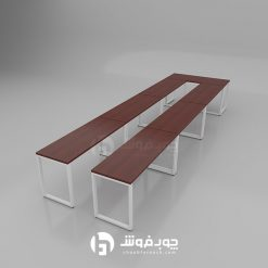 میز کنفرانس ماهگونی