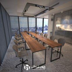 میز-کنفرانس-یو-c006