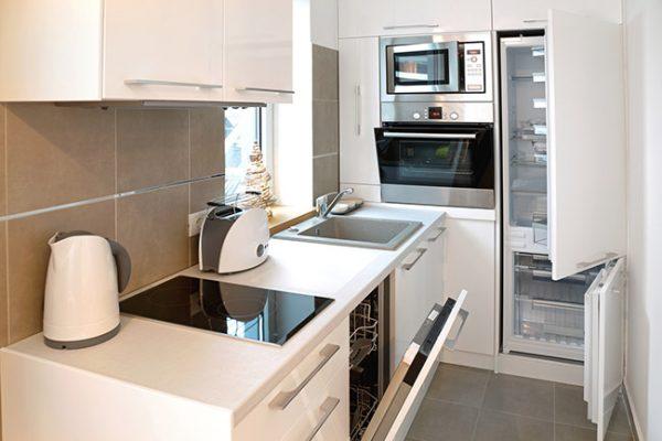 نمونه کابینت برای آشپزخانه کوچک