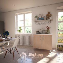 کابینت-آشپزخانه-دو-درب-U200