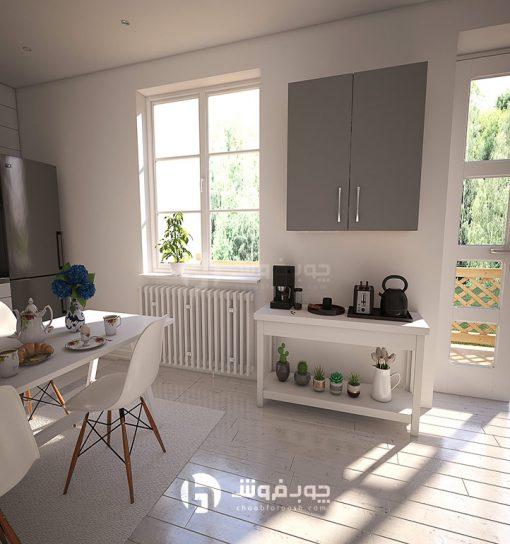 کابینت پیش ساخته آشپزخانه دو درب