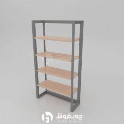 کتابخانه-با-پایه-فلزی-مدرن-L901