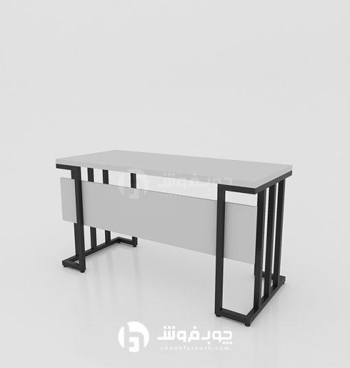انواع-میز-چوبی-پایه-فلزی-K330