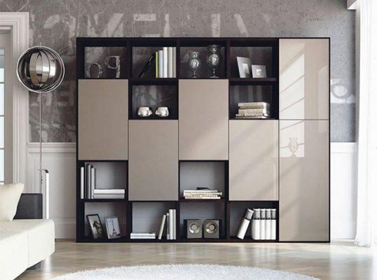 ایده-کتابخانه-مدرن-برای-منزل
