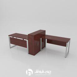 خرید-انواع-میز-کار-گروهی-دو-نفره-G133