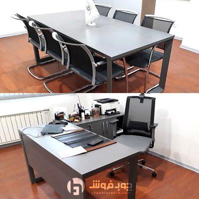 ست میز مدیریت و کنفرانس مدرن