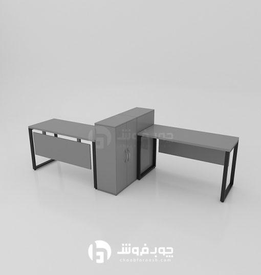 قیمت-میز-کار-گروهی-دو-نفره-اداری-G133
