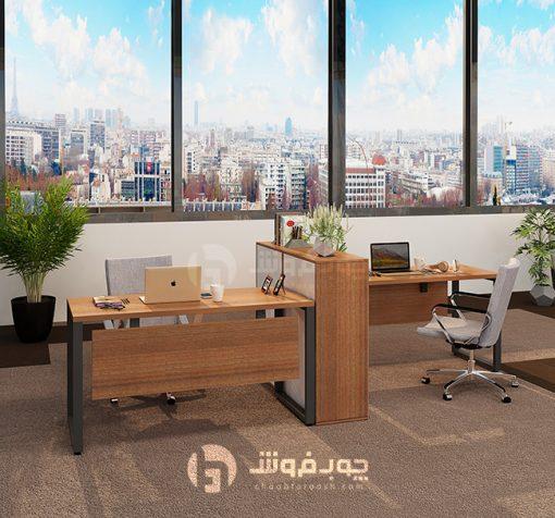 میز-کار-گروهی-دو-نفره-جدید-G133