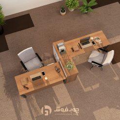میز-کار-گروهی-دو-نفره-کاربردی-G133