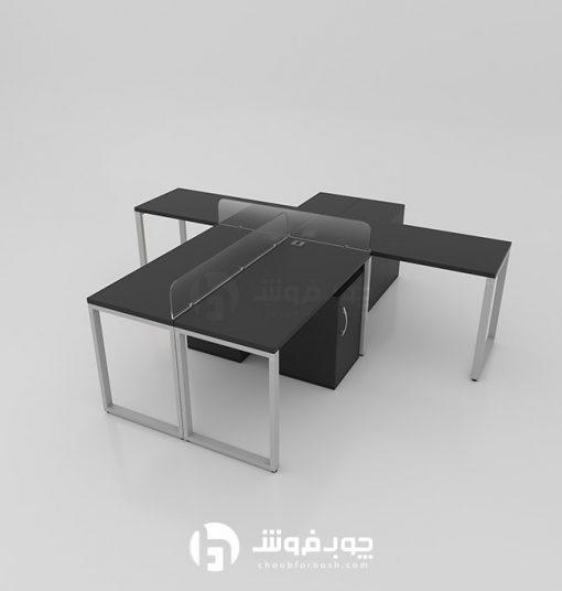 میز-گروهی-اداری-چهار-نفره-G137