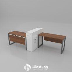 میز-گروهی-کامپیوتر-دو-نفره-G133