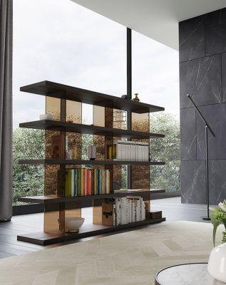 کتابخانه-مدرن-شیشه-ای