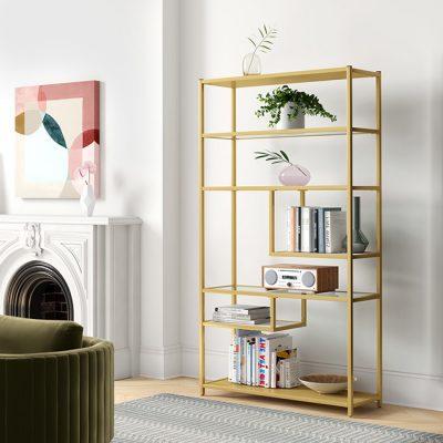انواع-قفسه-کتاب-فلزی