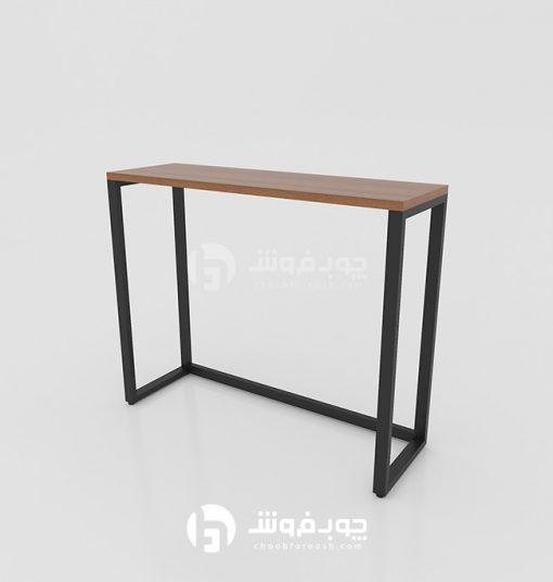 خرید-میز-نهار-خوری-پایه-فلزی-مدرن-DT500