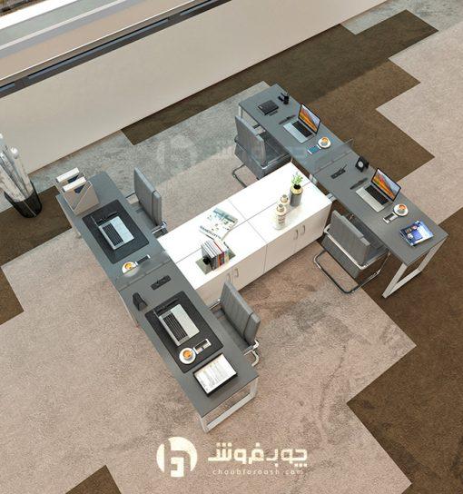 قیمت-میز-کار-گروهی-ارزان-G138