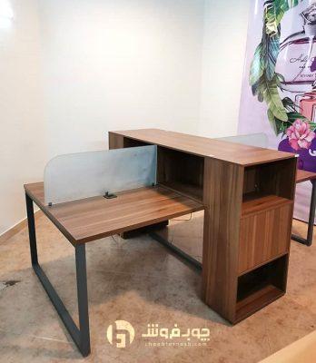 قیمت-میز-گروهی-پایه-فلزی