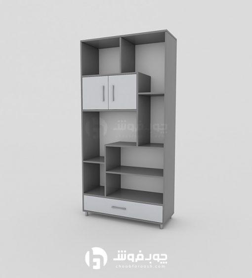 قیمت-و-خرید-کتابخانه-ایستاده-MDF-L960