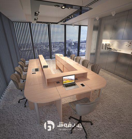 میز-جلسات-ام-دی-اف-C008