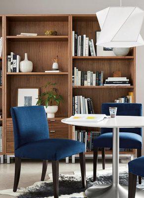 ایده-کتابخانه-چوبی-مدرن