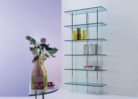 قفسه-کتاب-شیشه-ای-مدرن