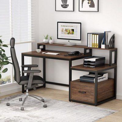 میز-مدرن-پایه-فلزی